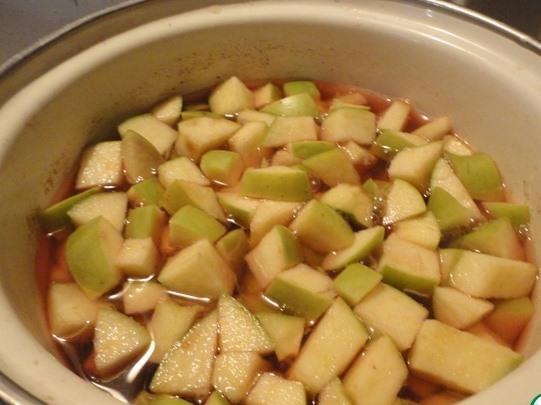 Кутья с яблоками - фото шаг 7