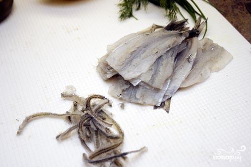 Рецепт Маринованная корюшка