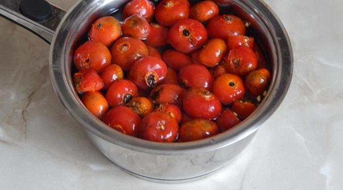 Рецепт Сироп из плодов шиповника