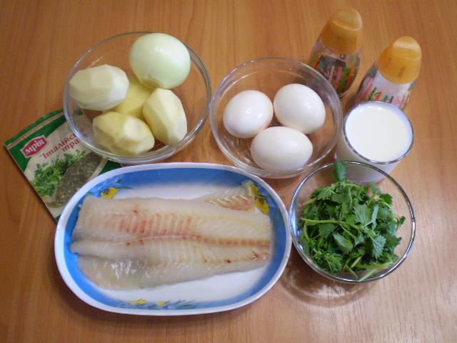 Рецепт Рыбная запеканка диетическая