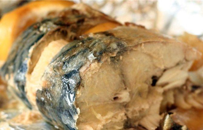 Рыба в пароварке в фольге - фото шаг 5