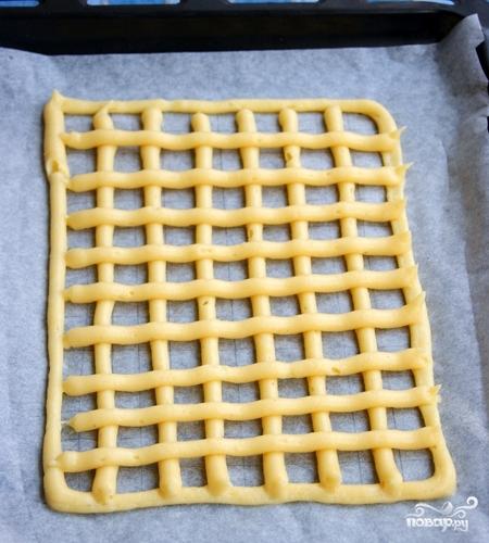 Заварное тесто для торта - фото шаг 5