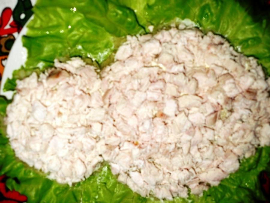 Рецепт салата пчелка с фото