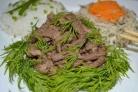 Говядина по-китайски в кисло-сладком соусе