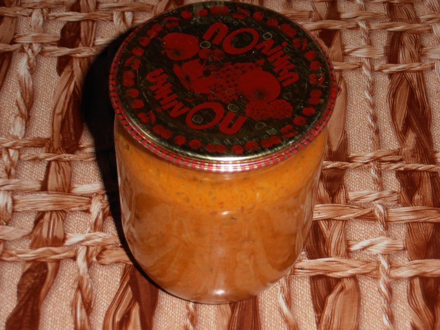 Кабачковая икра с соусом - фото шаг 8