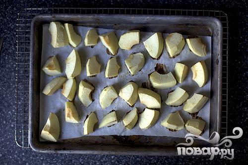 Булочки с яблоками и сыром Чеддер - фото шаг 1