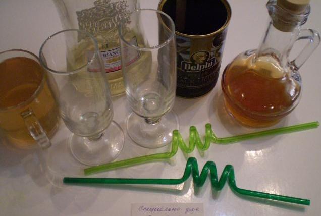 Рецепт Коктейль с оливкой