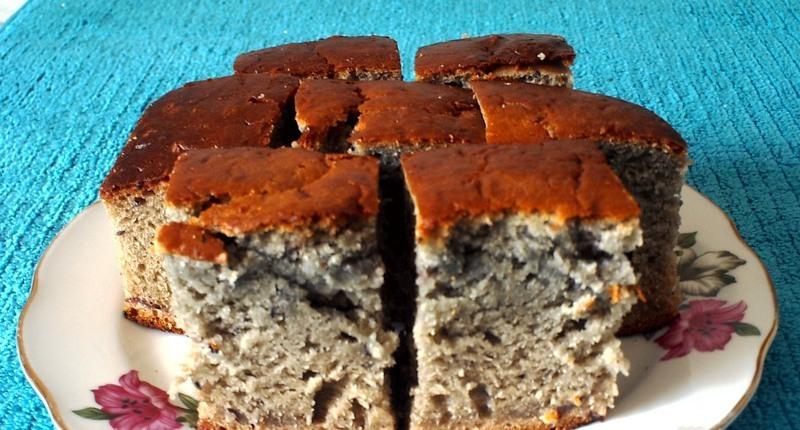 Бисквит ней пирог с вареньем