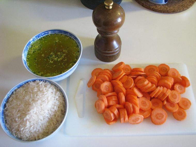 Ленивый рис с курицей - фото шаг 2