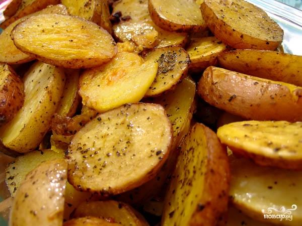 Рецепт Запеченный картофель в рукаве