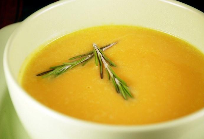 Крем-суп из тыквы со сливками - фото шаг 8