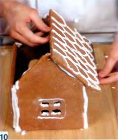 Пряный  домик - фото шаг 10