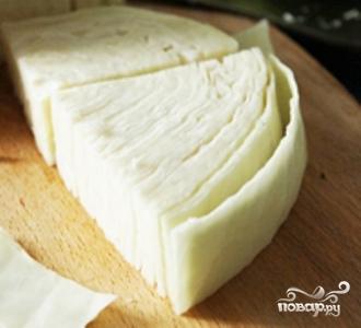 Рецепт Капуста с чесноком