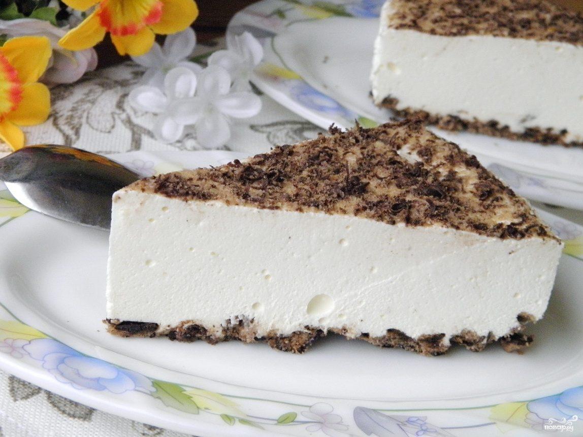 Сырный чизкейк без выпечки