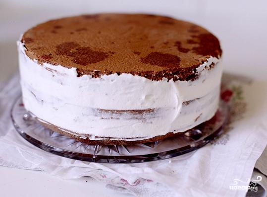 Вишневый торт - фото шаг 6