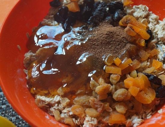 Овсяное печенье на кефире - фото шаг 3