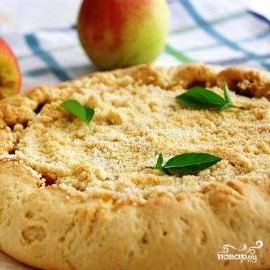 Яблочная галета - фото шаг 8