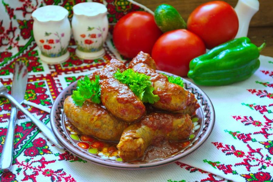 Колбаски под соусом - фото шаг 5