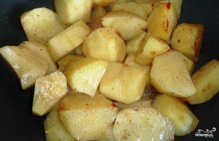 Картофель казане рецепт фото