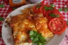 Запеканка с сосиской и картошкой