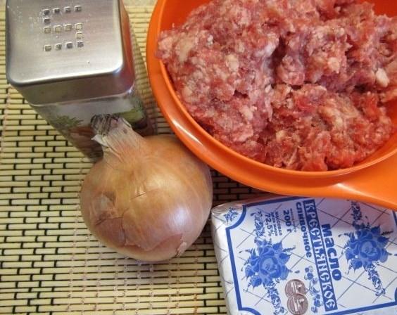 Рецепт Начинка для пирожков с мясом