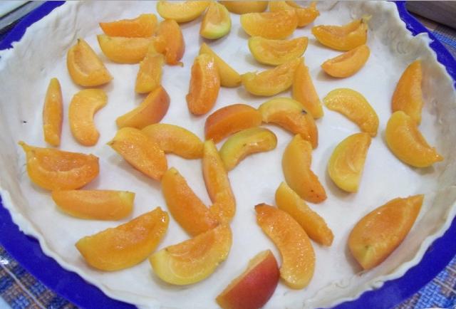 Рецепт Абрикосовый пирог с ванилью