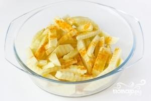 Картофель фри в духовке - фото шаг 4