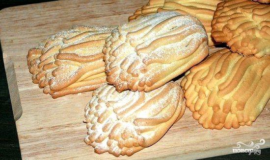 Печенье песочное через мясорубку