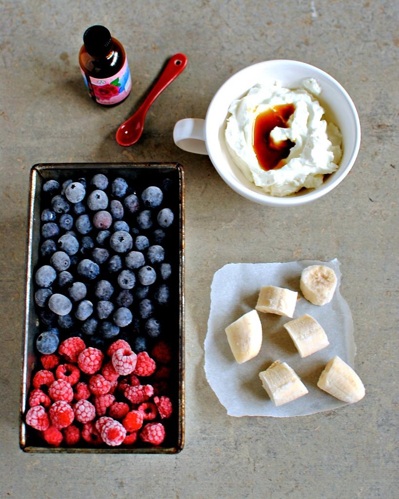 Рецепт Замороженное фруктовое пюре
