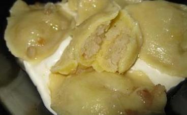 Вареники с салом и сырой картошкой - фото шаг 6