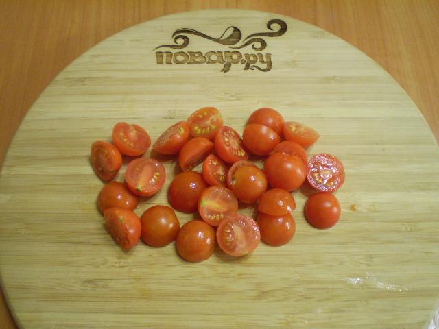 Помидоры с морковкой и чесноком - фото шаг 2