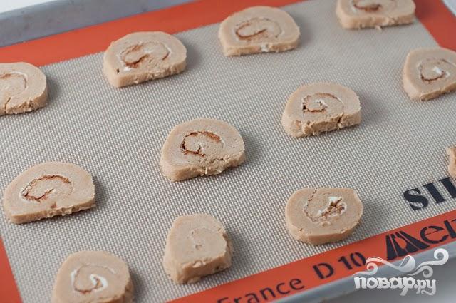 Печенье с корицей и кофейной глазурью - фото шаг 5