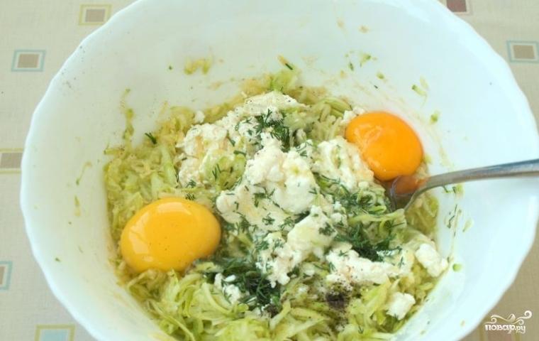 Творожная запеканка с зеленью на обед