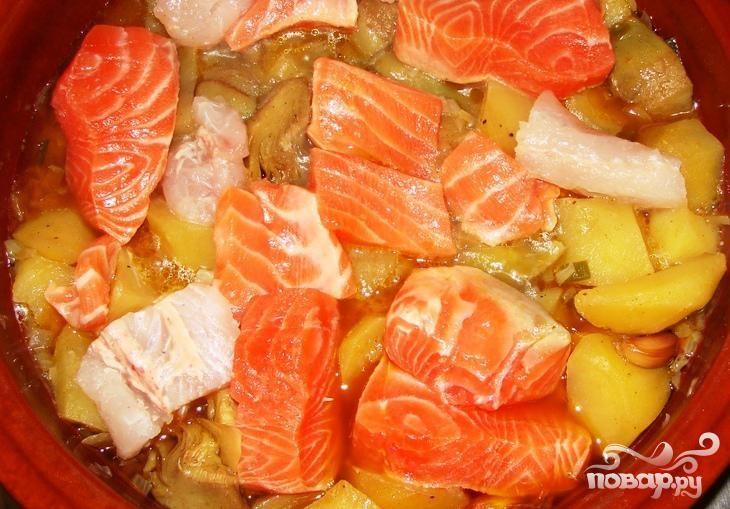 Рецепт Рыбное жаркое по-азиатски