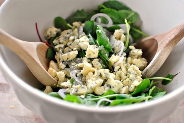 Салат с сыром и виноградом - фото шаг 3
