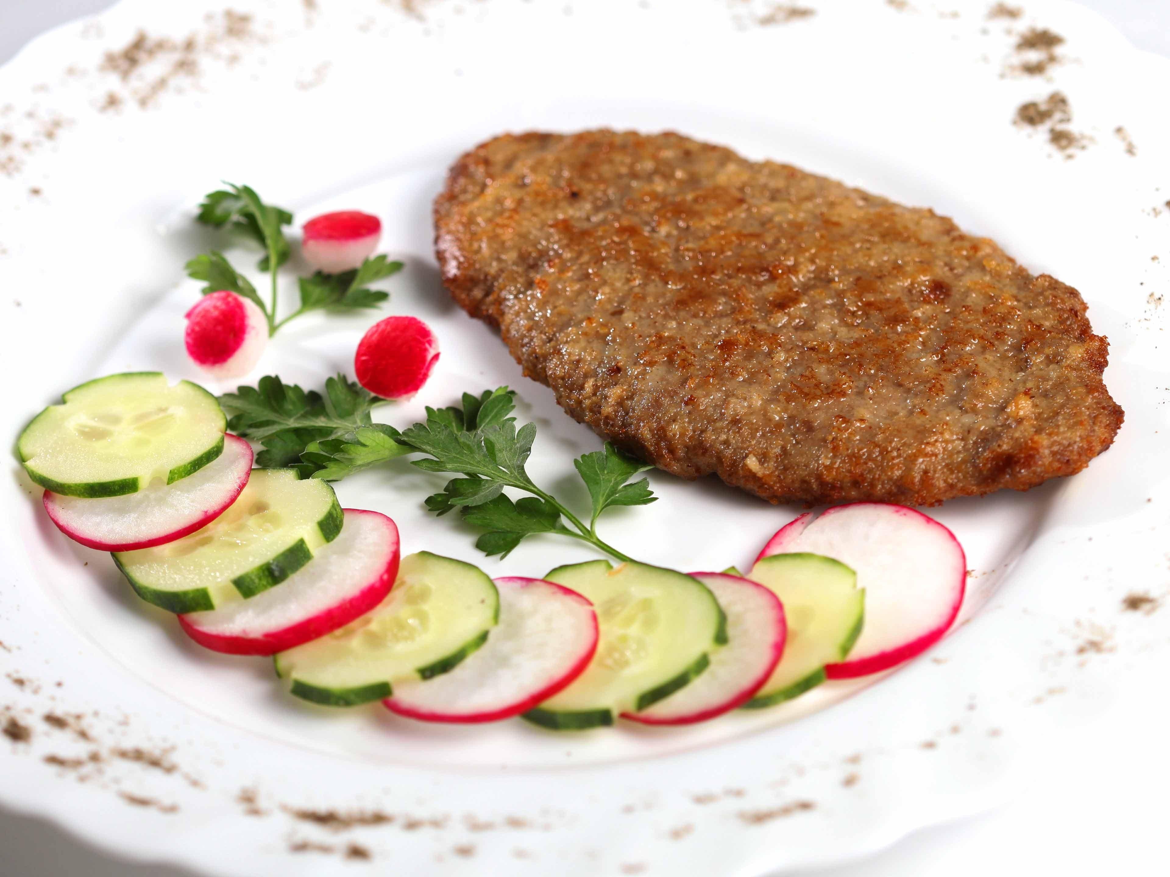 Рецепт Шницель рубленый