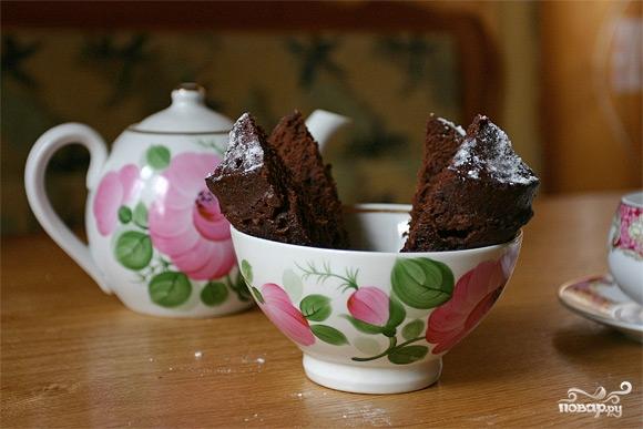 Шоколадный пирог за 5 минут