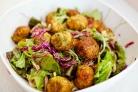 Вегетарианский салат из кабачков