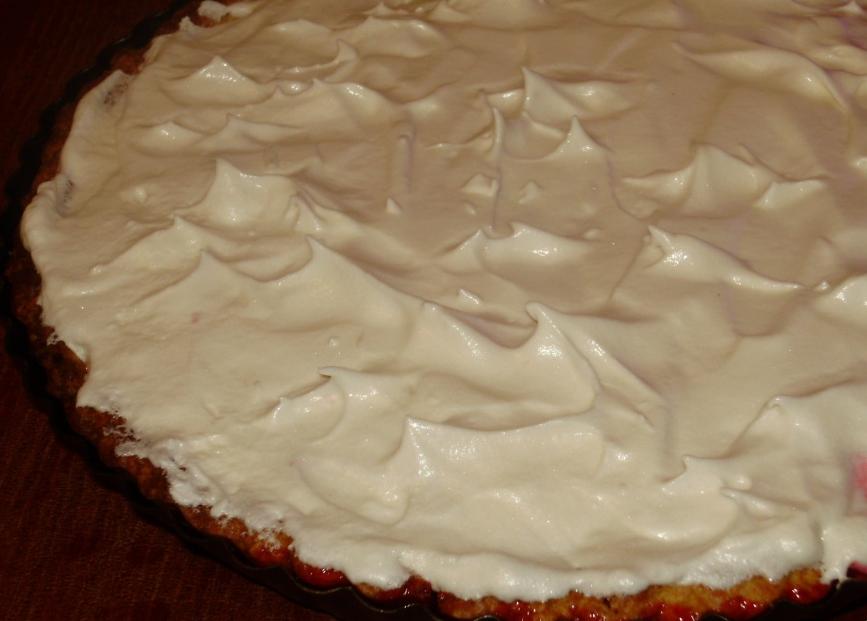 Брусничный тарт - фото шаг 3