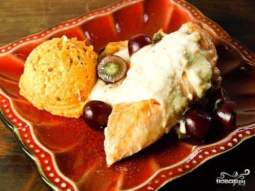 рецепт кабачки в духовке по сливочным соусом