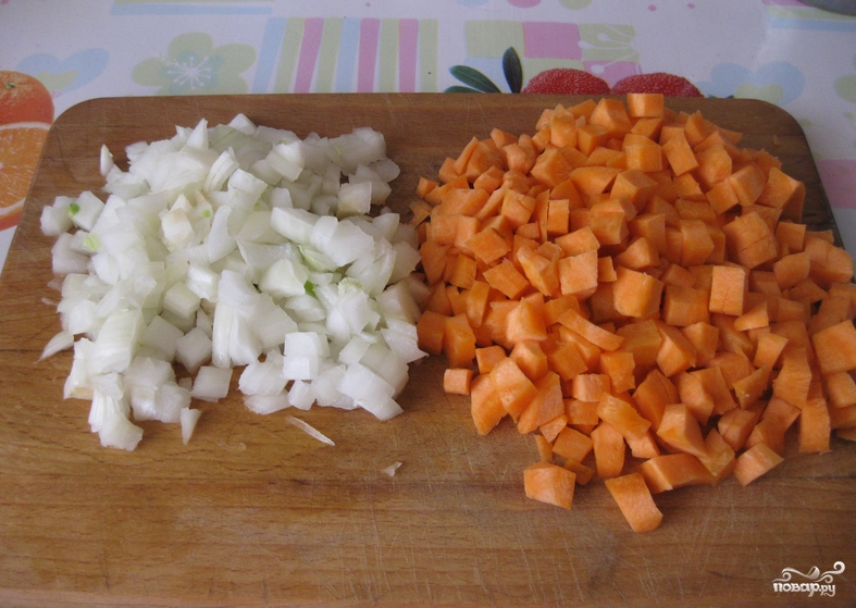 Чечевица с овощами - фото шаг 2