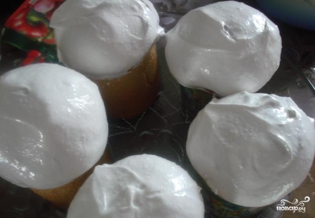 Как сделать гоголь-моголь из яиц для куличей