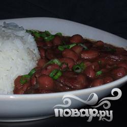 Рецепт Луизианская красная фасоль и рис