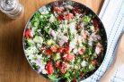 Диетический салат из свежих овощей