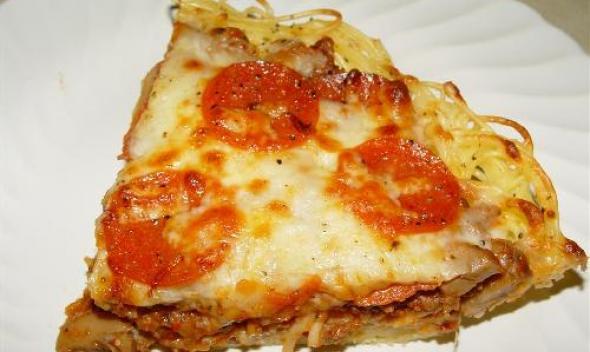 Пирог Спагетти