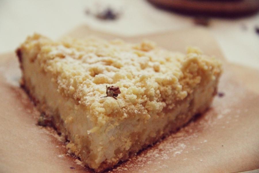 Творожный пирог с песочной крошкой - фото шаг 8