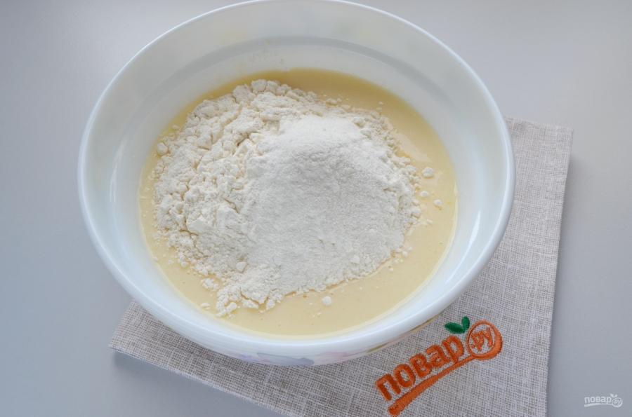 Датский кокосовый пирог - фото шаг 3
