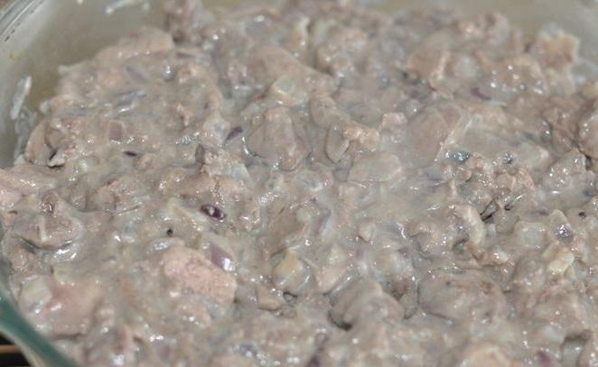 Макароны с ливерной колбасой - фото шаг 5