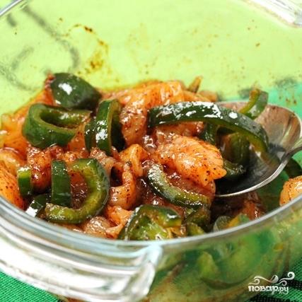 Рис с курицей и овощами - фото шаг 3