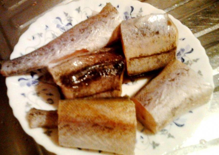 Рецепт Тушеная рыба с рисом